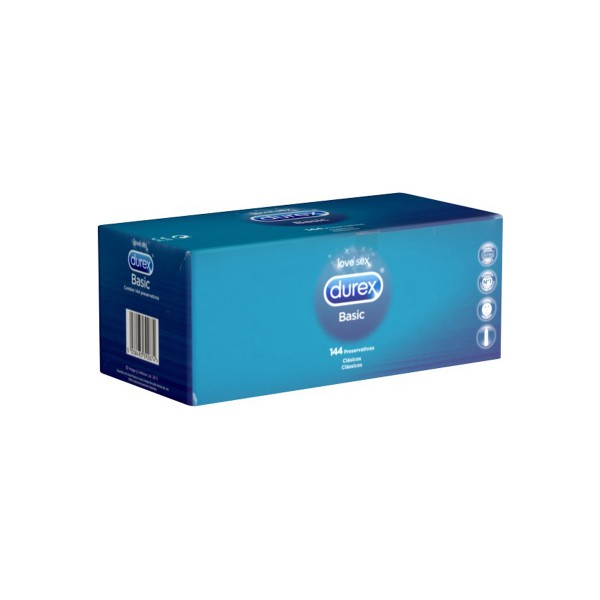 Kondomi Durex Natural, 144 kom