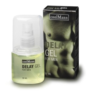 Gel za zakasnitev orgazma CoolMann, 30 ml
