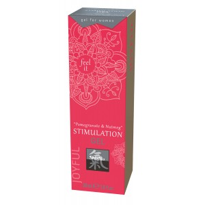 Gel za stimulacijo Pomegranate & Nutmeg, 30 ml