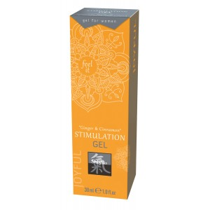 Gel za stimulacijo Ginger & Cinnamon, 30 ml