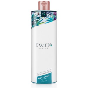 Masažno olje Exotiq Body To Body, 500 ml
