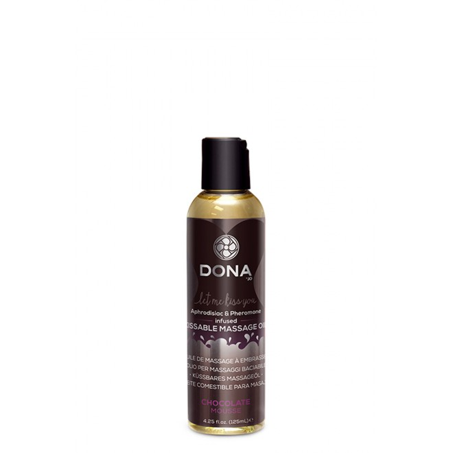 Masažno olje Dona Kissable Chocolate, 125 ml