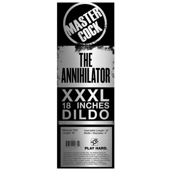 Dildo - The Annihilator XXXL