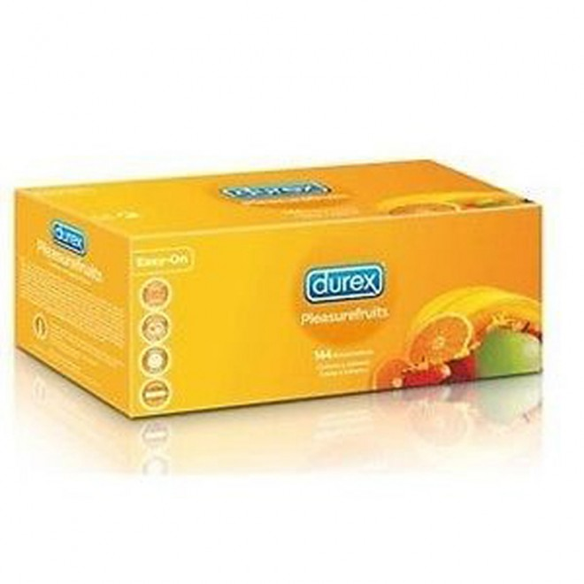 Kondomi Durex Pleasurefruits, 144 kom