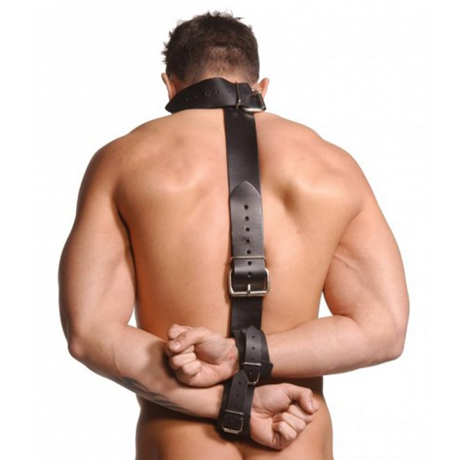 Ovratnica z lisicami Strict Leather