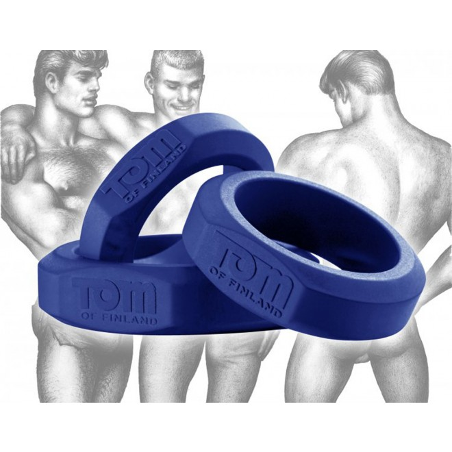 Komplet 3 obročkov Tom of Finland