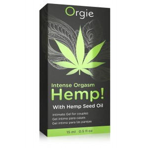 Gel Intense Orgasm Hemp - 15 ml