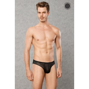 Transparent Men's Underwear - Black