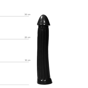 Dildo All Black 31.5 cm