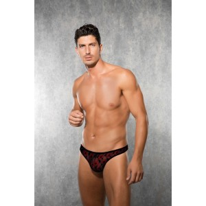 Men's String - Red/Black