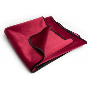 Fascinator Throw - Merlot