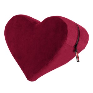 Heart Wedge Position Pillow - Merlot