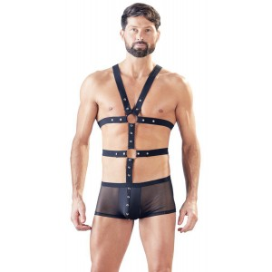 Boxer Shorts With Harness