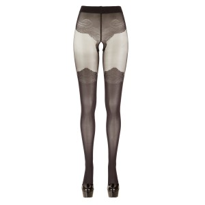 Tights With Stockings Look