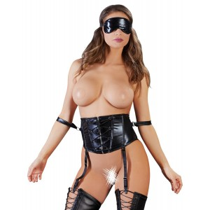 Waist Cincher and Blindfold