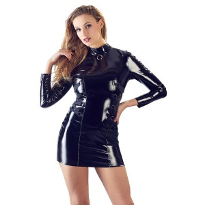 PVC Dress With Long Sleeves