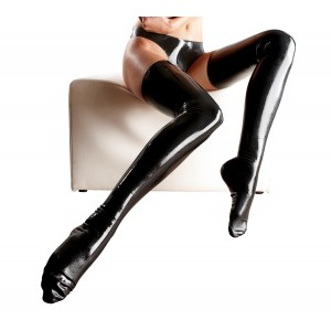 Latex Stockings black