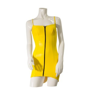 GP Datex Zip Up Front Dress