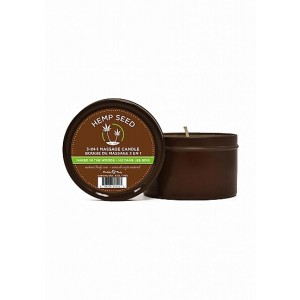 Naked In The Woods Massage Candle - White Tea / Ginger
