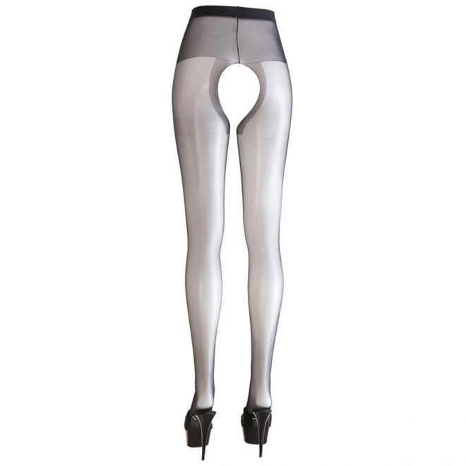Crotchless Tights black