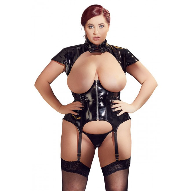 Vinyl Suspender Top
