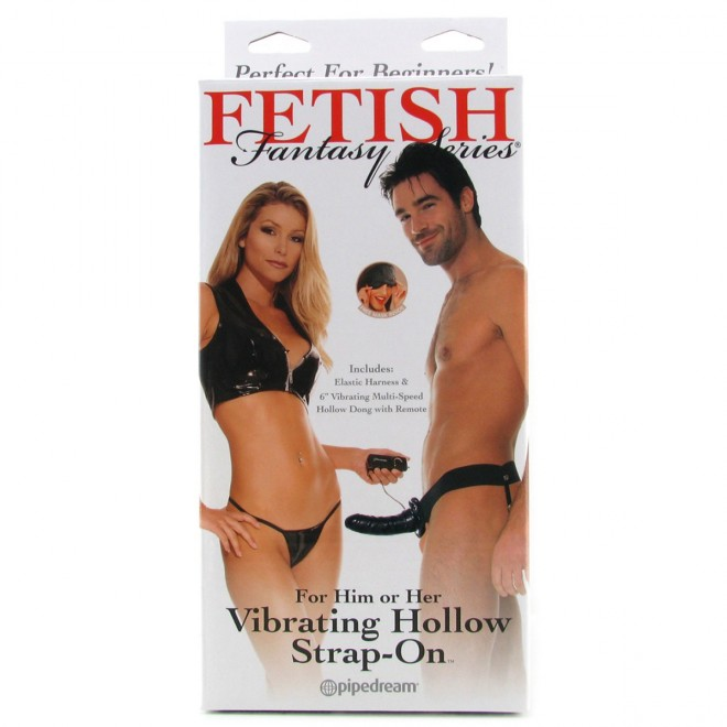 Vibrating Hollow Strap-On