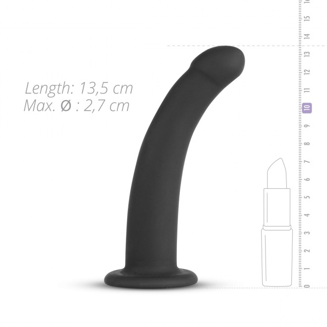Silicone Strap-On - Smooth