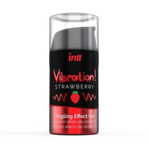 Vibration! Strawberry Tingling Gel